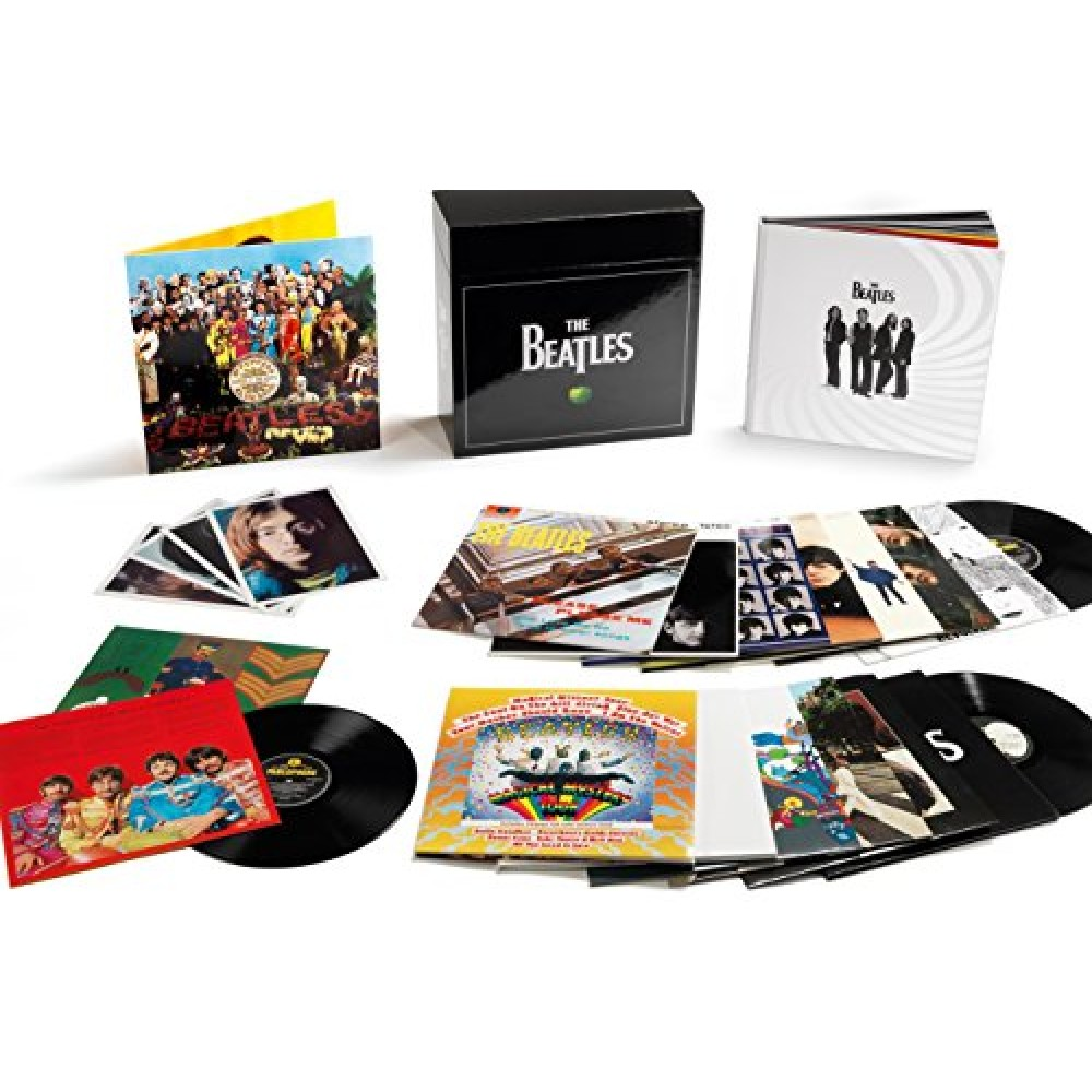 beatles the the stereo vinyl box set 16lp 14 album 180 gram remastered 252 page. Black Bedroom Furniture Sets. Home Design Ideas