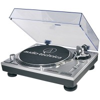 Audio-Technica USB and Analog Professional Silver Turntable (Certified Refurbished)