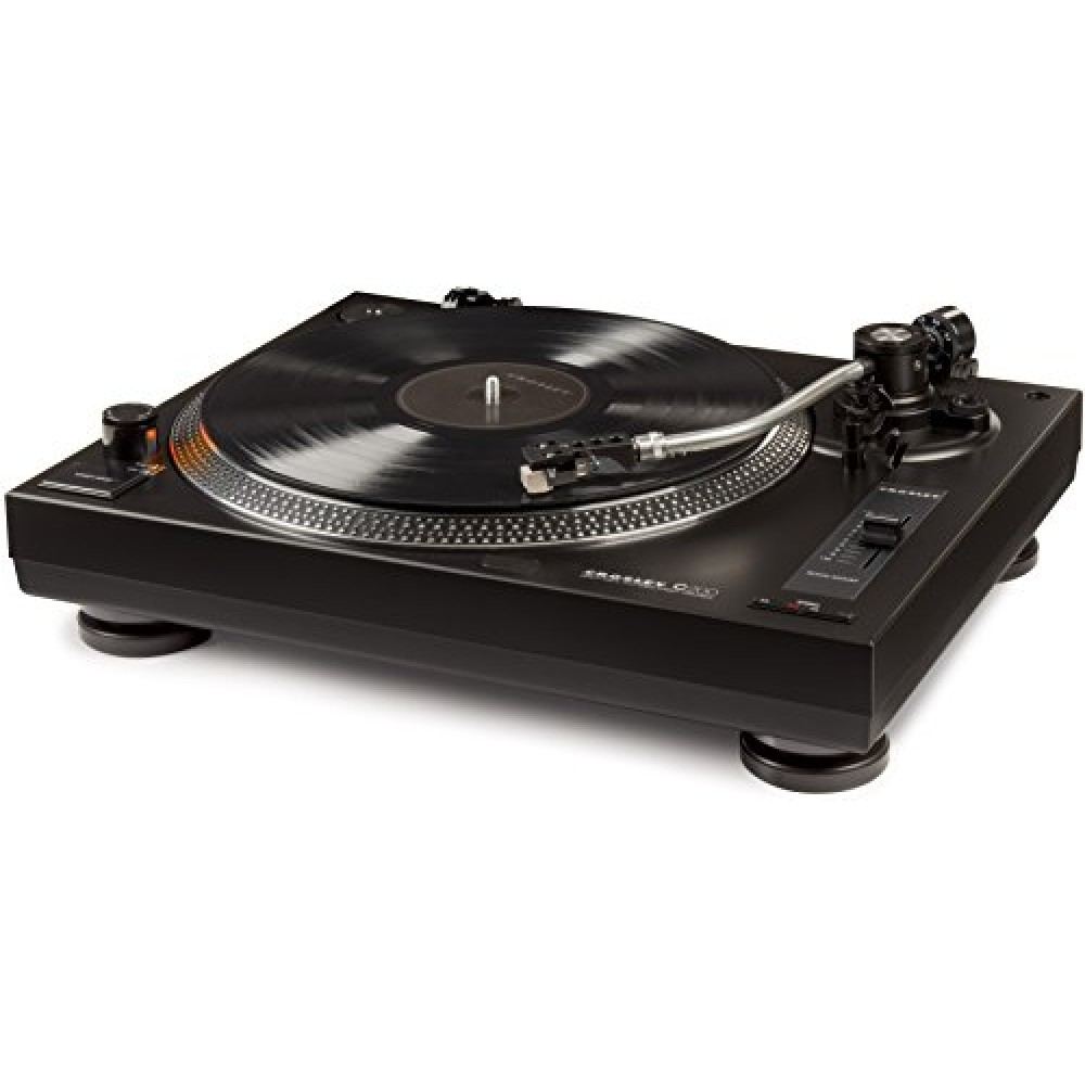 Crosley C200a Bk Direct Drive Turntable With S Shaped Tone