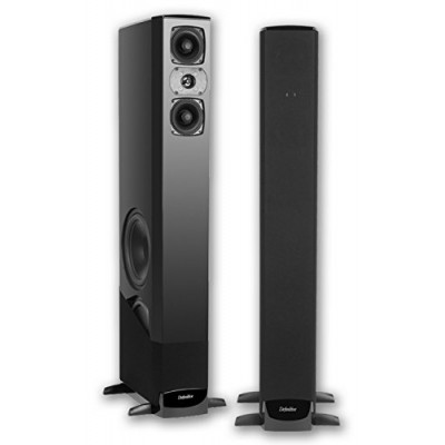 Definitive Technology BP-8040ST Bipolar Tower with Built-In Powered Subwoofer, Each