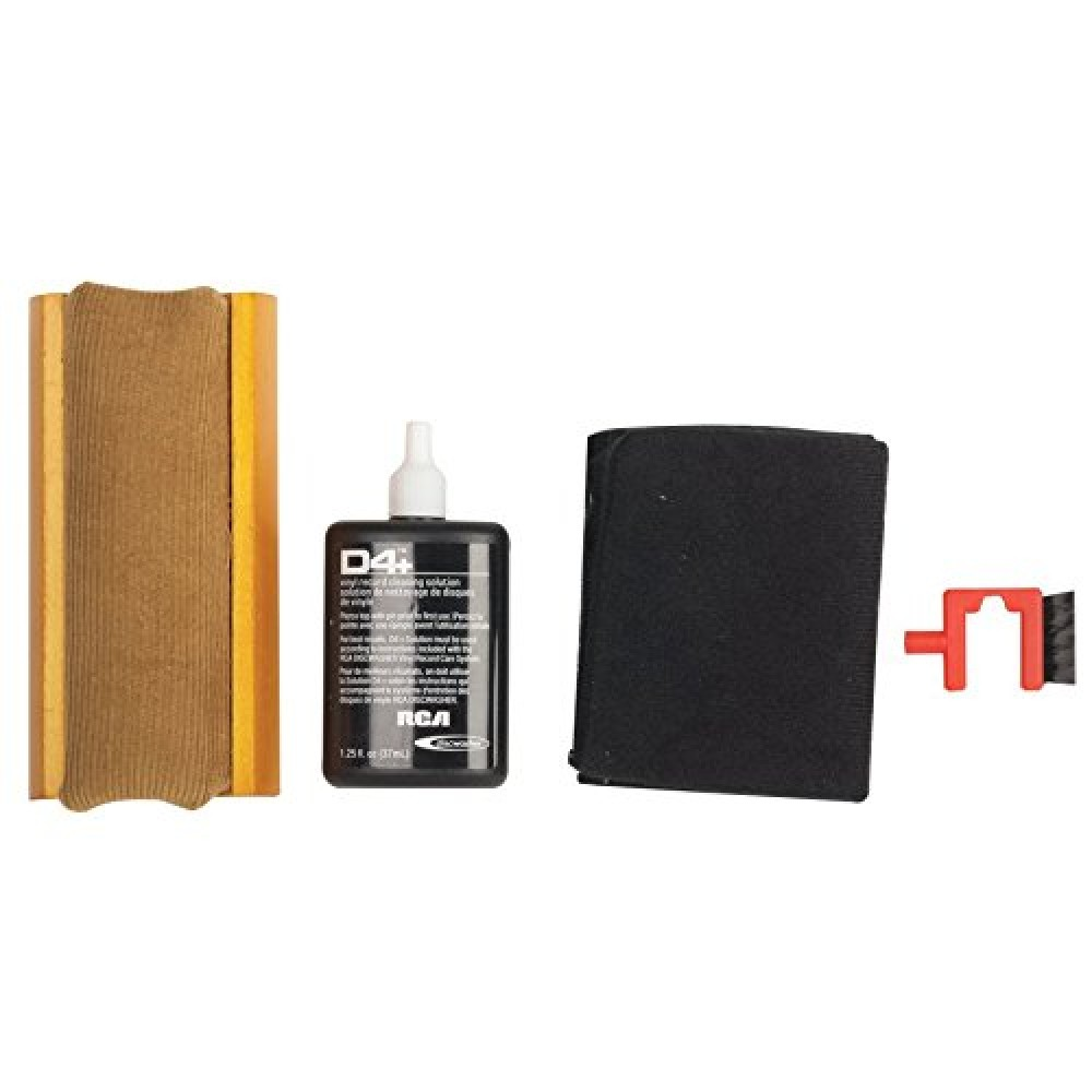 Rca Rd1006 Discwasher Vinyl Record Cleaning Kit