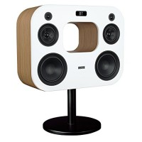 "Fluance Fi70W Three-Way Wireless High Fidelity Music System with Powerful Amplifier & Dual 8"" Subwoofers (Lucky Bamboo)"