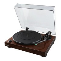 Fluance High Fidelity Vinyl Turntable Record Player with Dual Magnet Cartridge, Elliptical Diamond Stylus, Belt Drive, Built-in Preamp, Adjustable ...