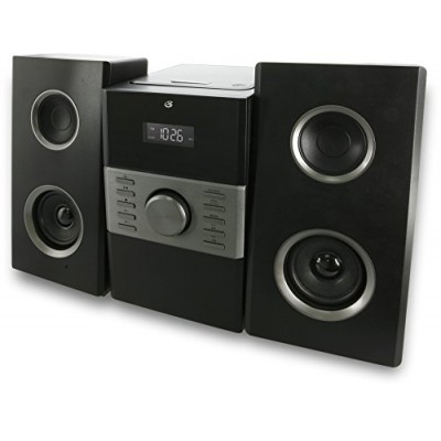 GPX HC425B Stereo Home Music System with CD Player & AM/ FM Tuner, Remote Control