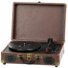 QFX TURN-101 Retro Collection Suitcase Turntable