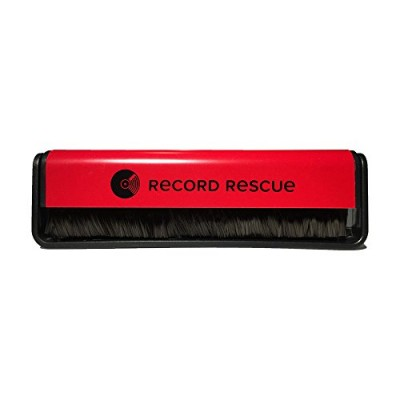 Record Cleaning Brush - (Red) Vinyl Record Rescue