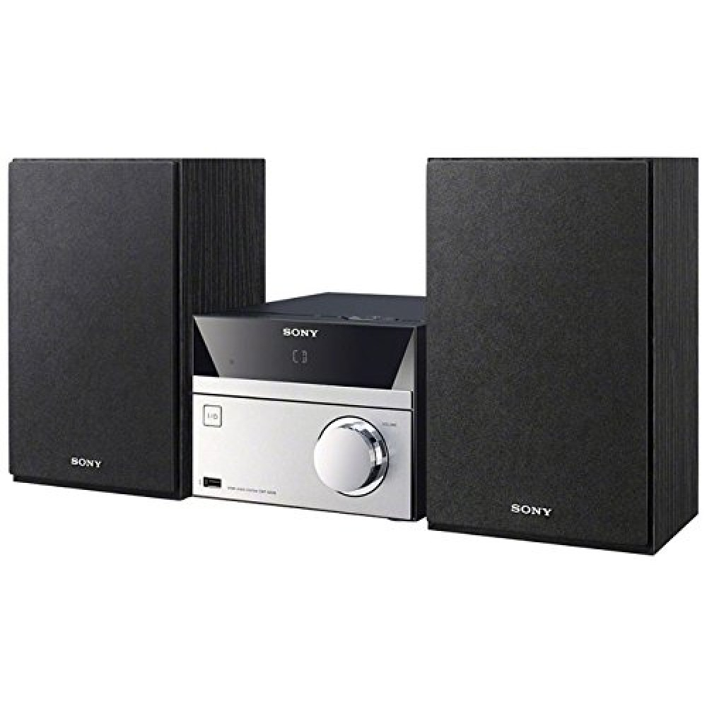 sony micro hi fi stereo sound system with mp3 cd player. Black Bedroom Furniture Sets. Home Design Ideas