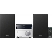 Sony Micro Hi-Fi Stereo Sound System with MP3 CD Player, FM Radio Tuner, 20 Preset Stations, Alarm Clock, Sleep Timer, 5 Band Equalizer, Bass Boost...