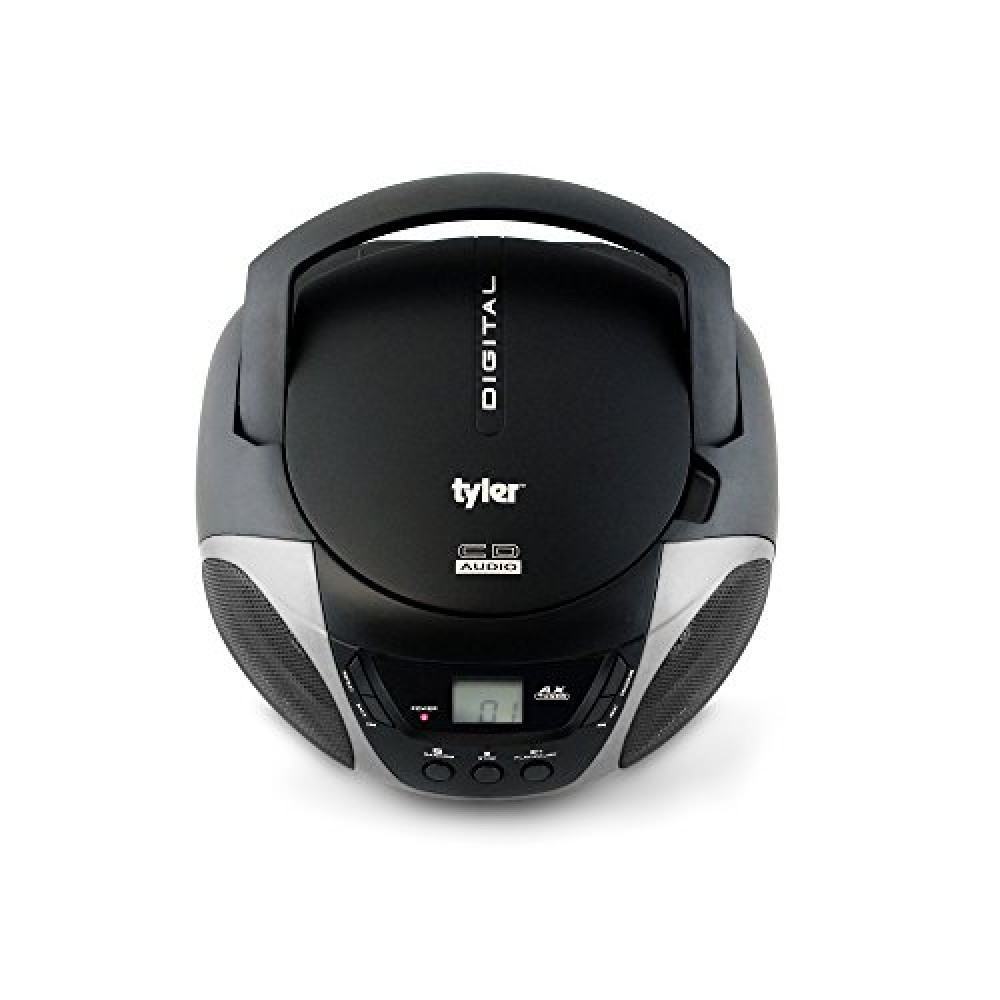 Tyler portable sport stereo cd player tau101 sl with am fm - Mobile porta cd ...