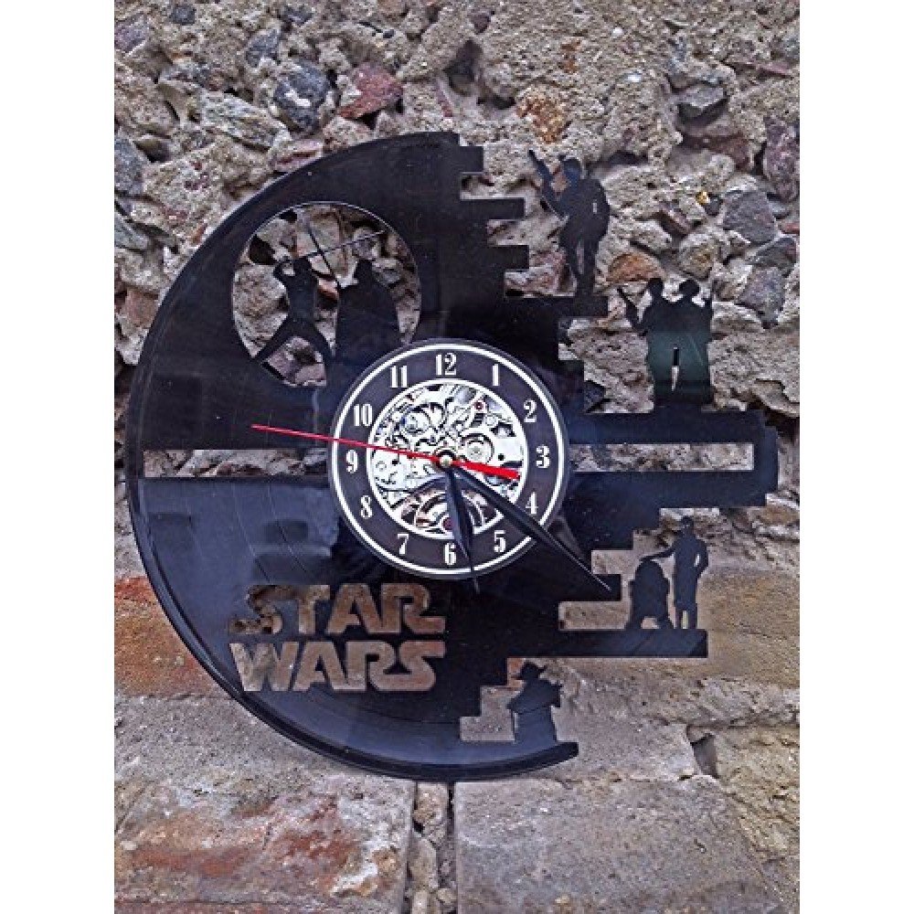 Star Wars Death Star Designed Wall Clock Decorate Your